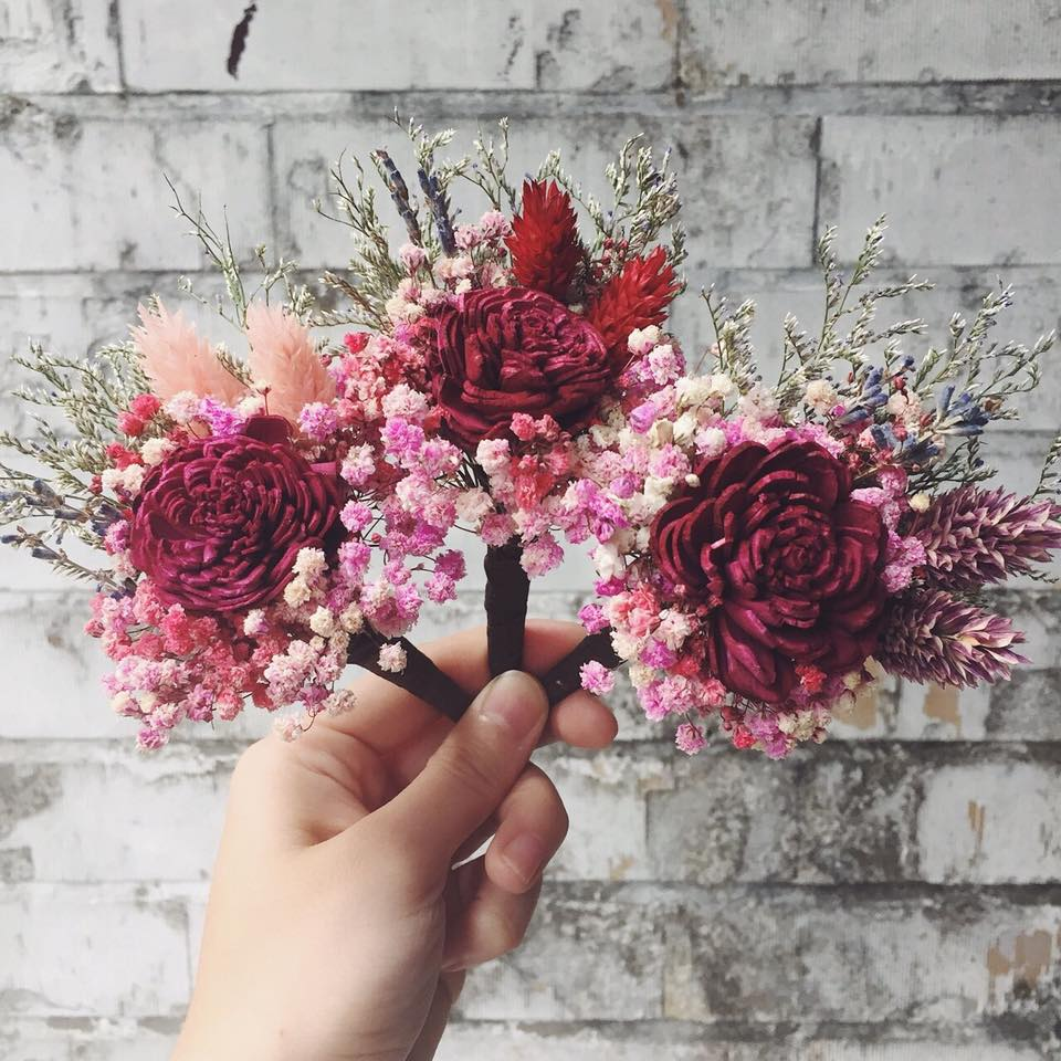 乾燥花胸花,胸花乾燥花台北喜歡生活乾燥花店